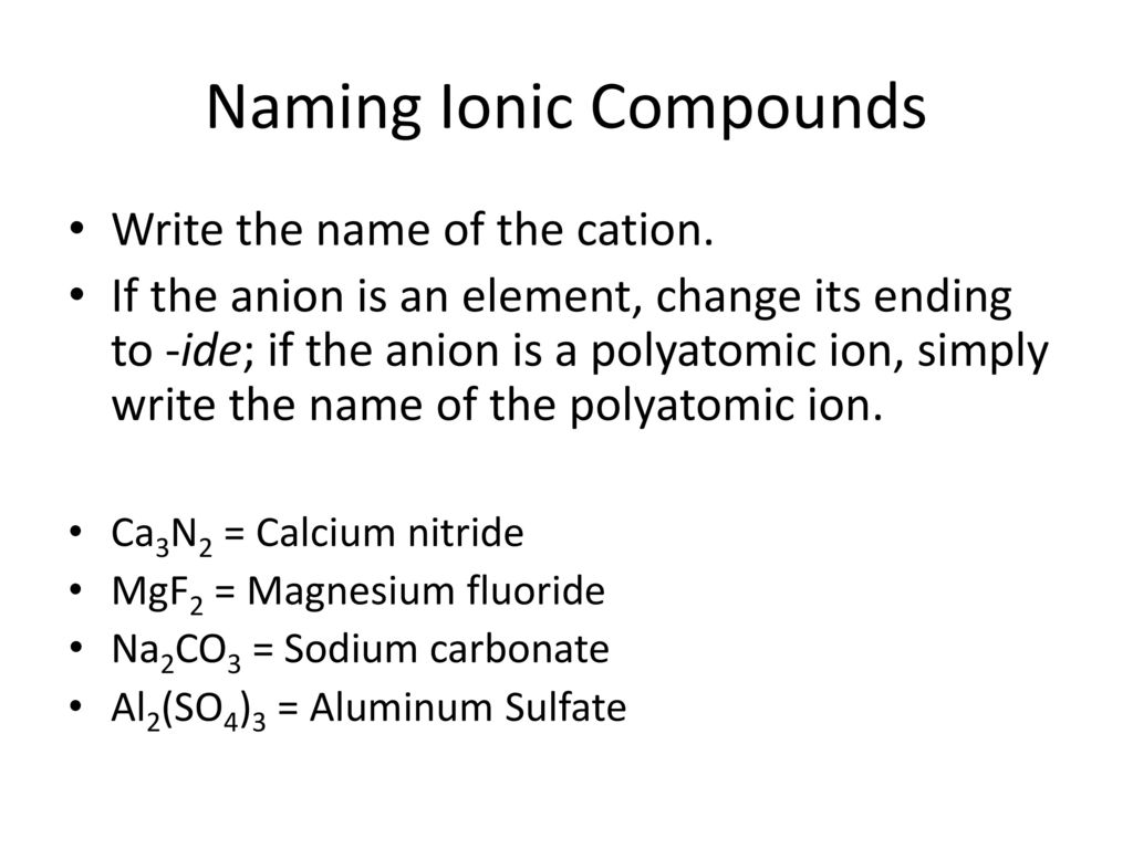 Ionic Compound Worksheet Fillable Online Forming And Naming Binary – Ions Worksheet