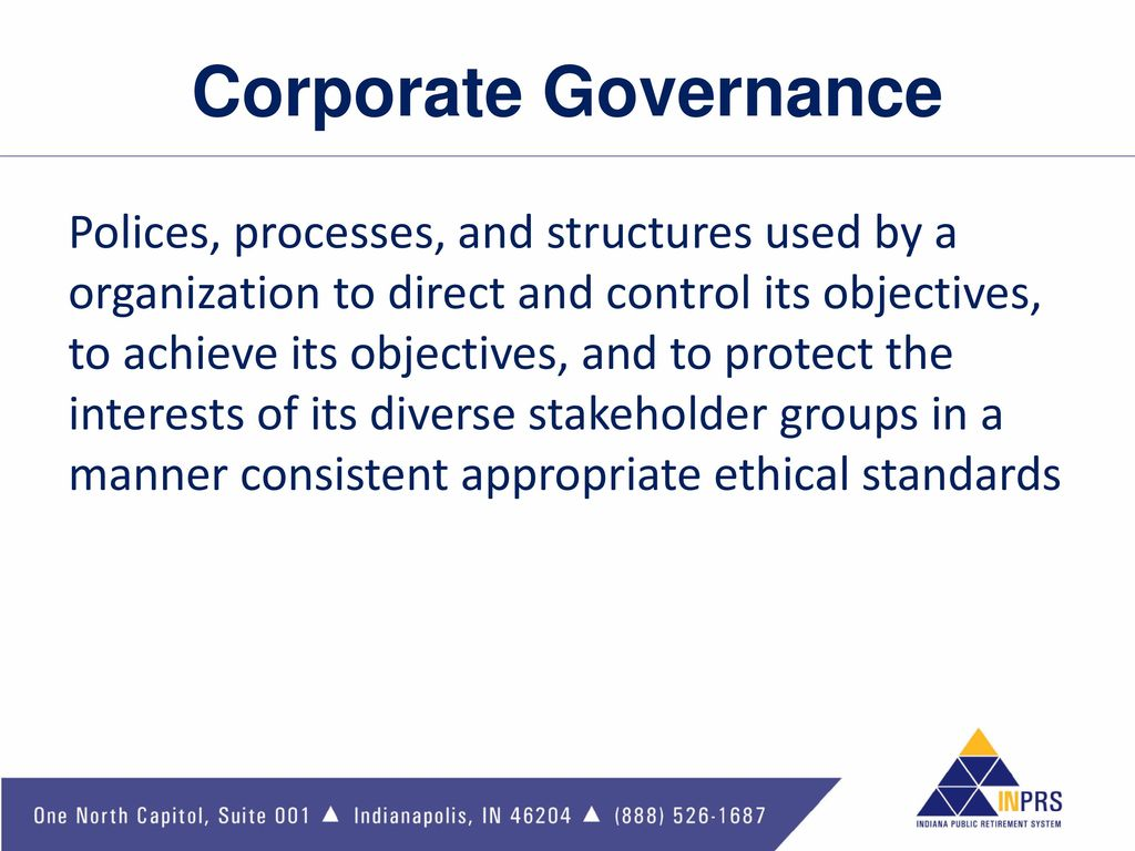 corporate governance ethical auditing We have consistently held ourselves to the highest ethical standards our corporate governance guidelines and diverse, experienced board of directors reinforce our ongoing efforts the audit committee has approved procedures with respect to the receipt.