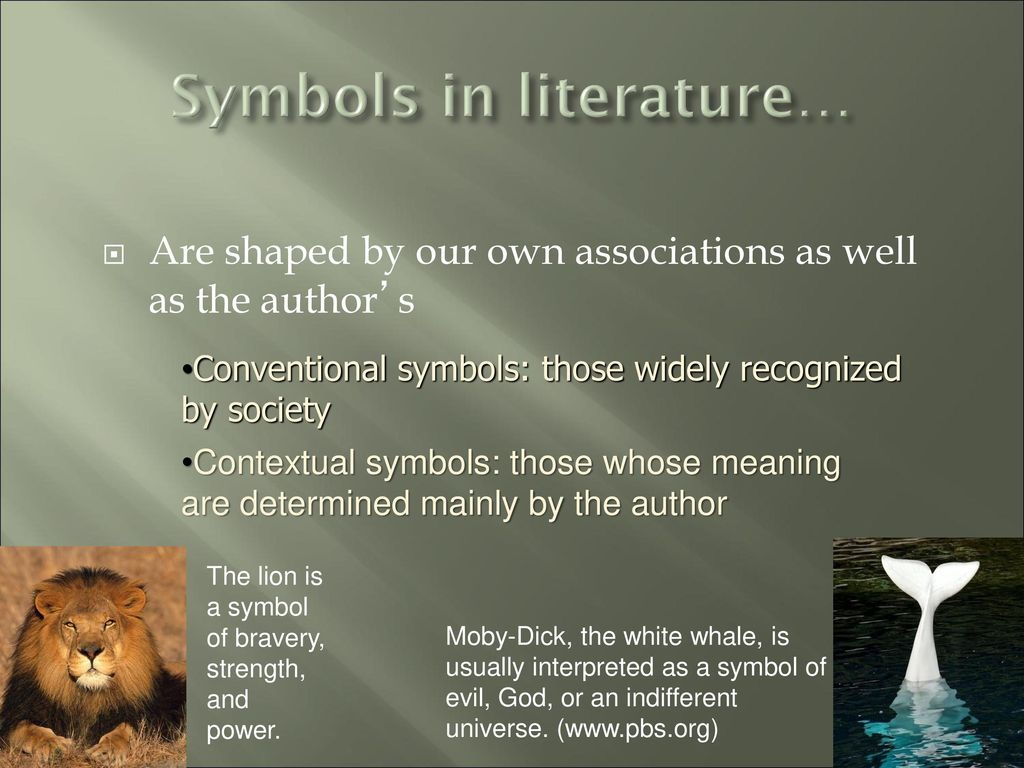 Symbolism in literature ppt download 4 symbols in literature biocorpaavc Gallery