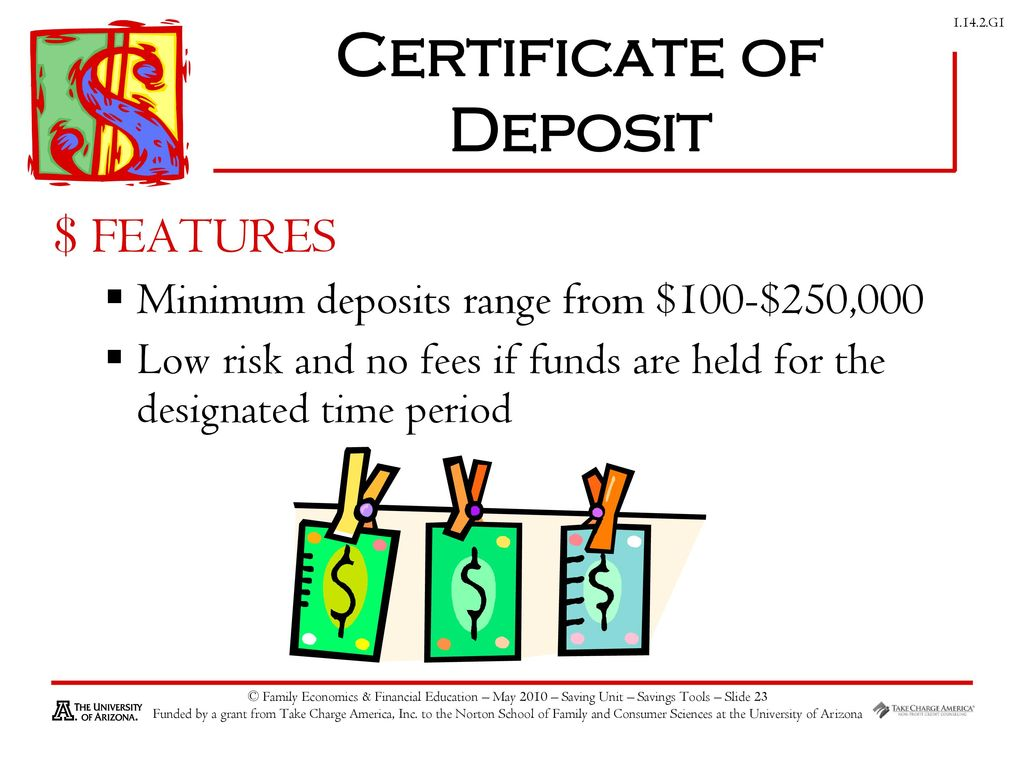 Savings investing ppt download 23 certificate of deposit 1betcityfo Gallery