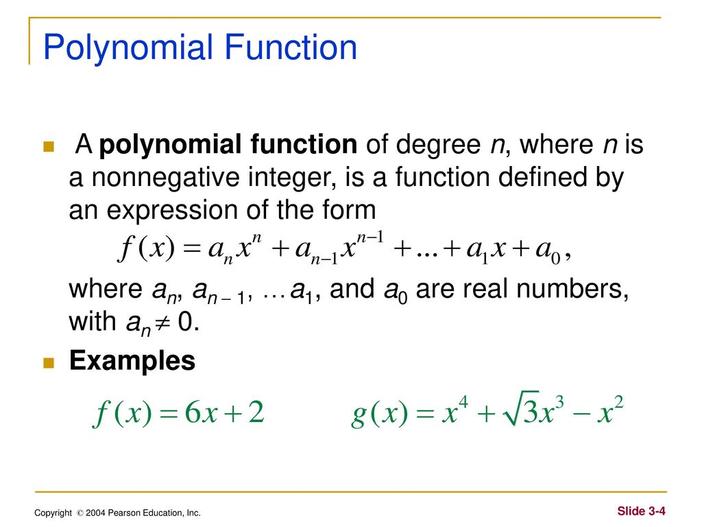 Chapter 3 polynomial and rational functions ppt download 4 polynomial falaconquin