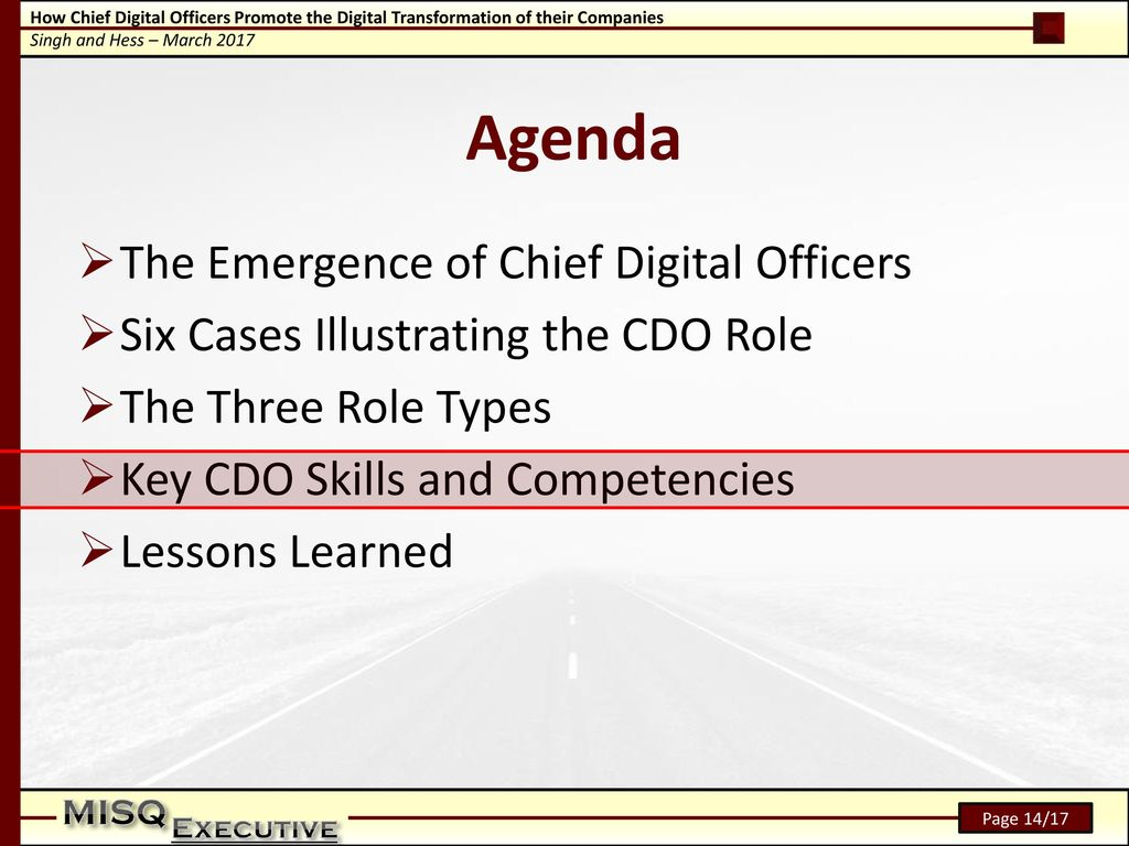 Image Result For The Emergence Of Chief Digital Officers