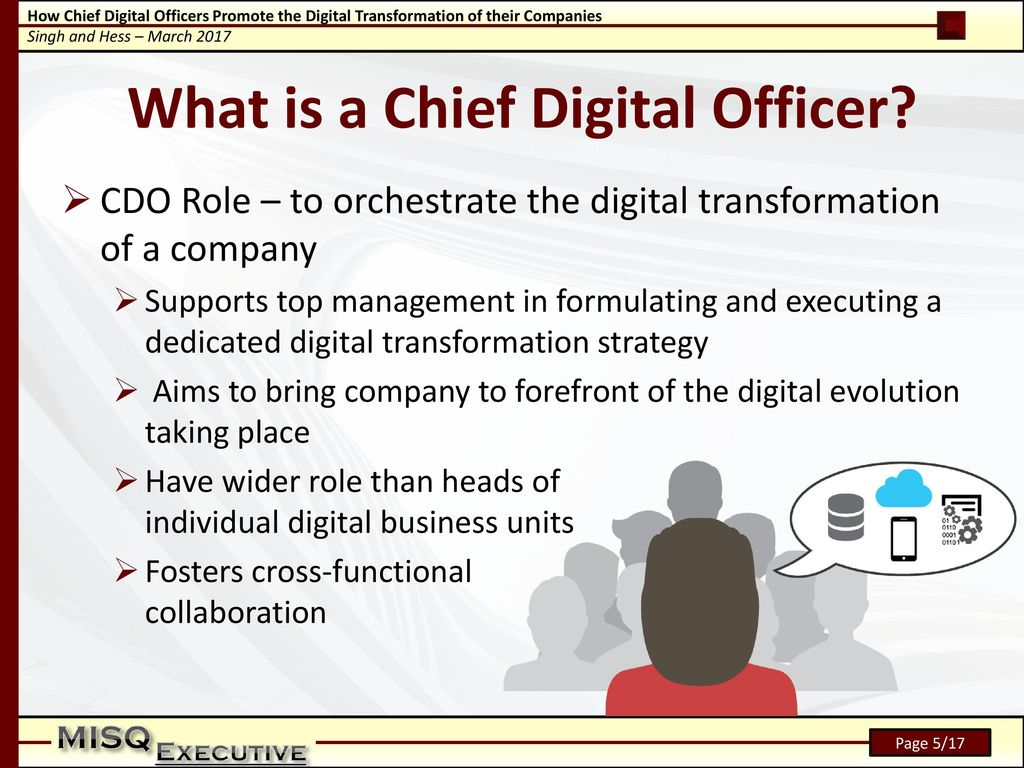 how to become a chief transformation officer