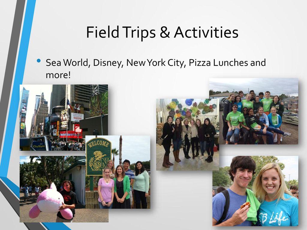 Field Trips & Activities