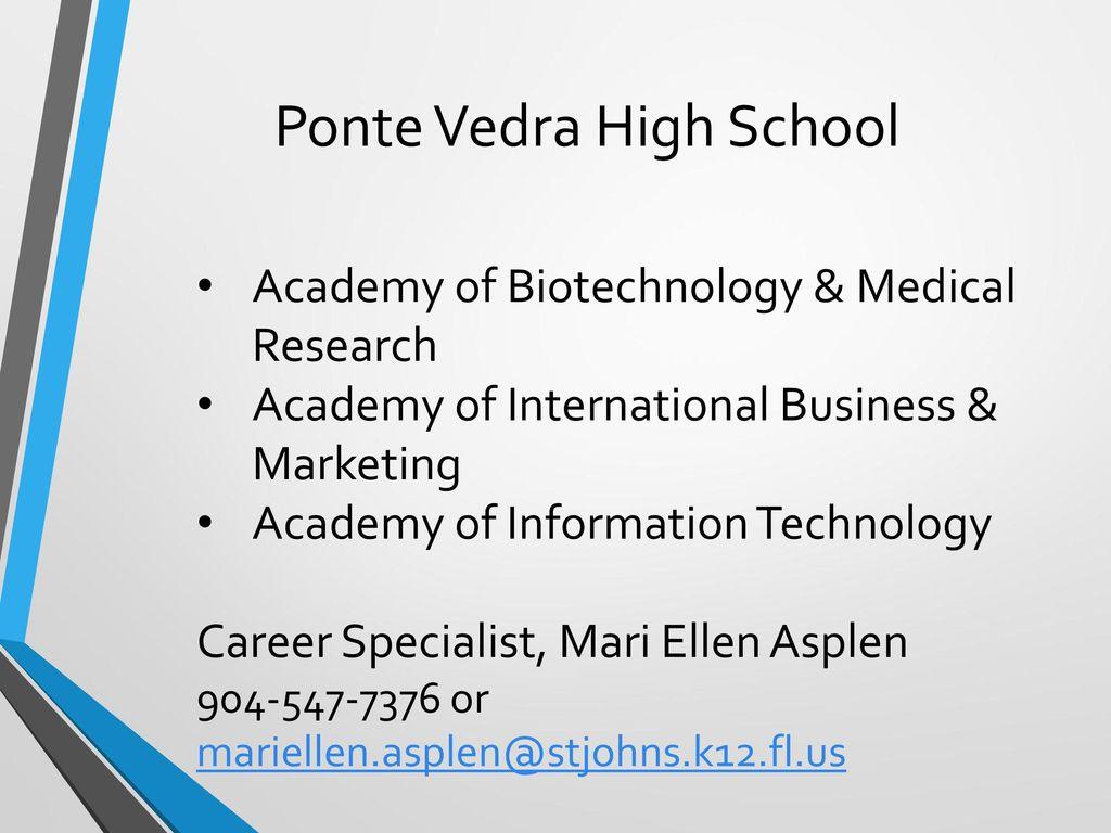 Ponte Vedra High School