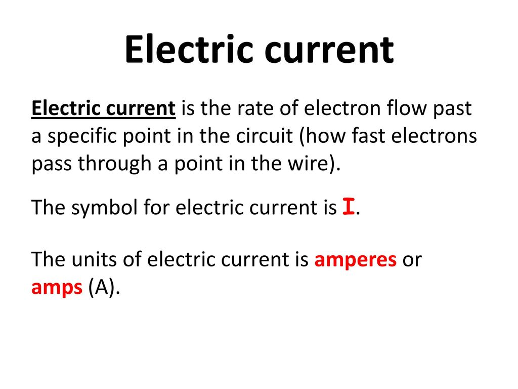 Electric current ppt download 2 electric current electric current is the rate of electron buycottarizona Images