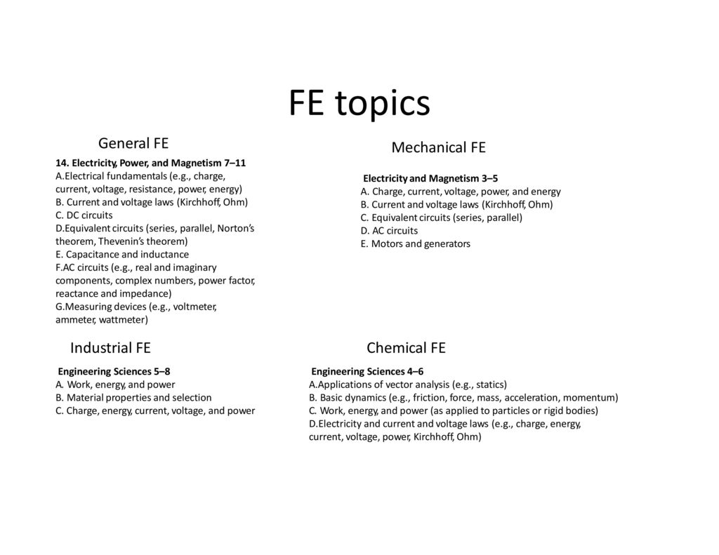 FE Review – Basic Circuits - ppt download