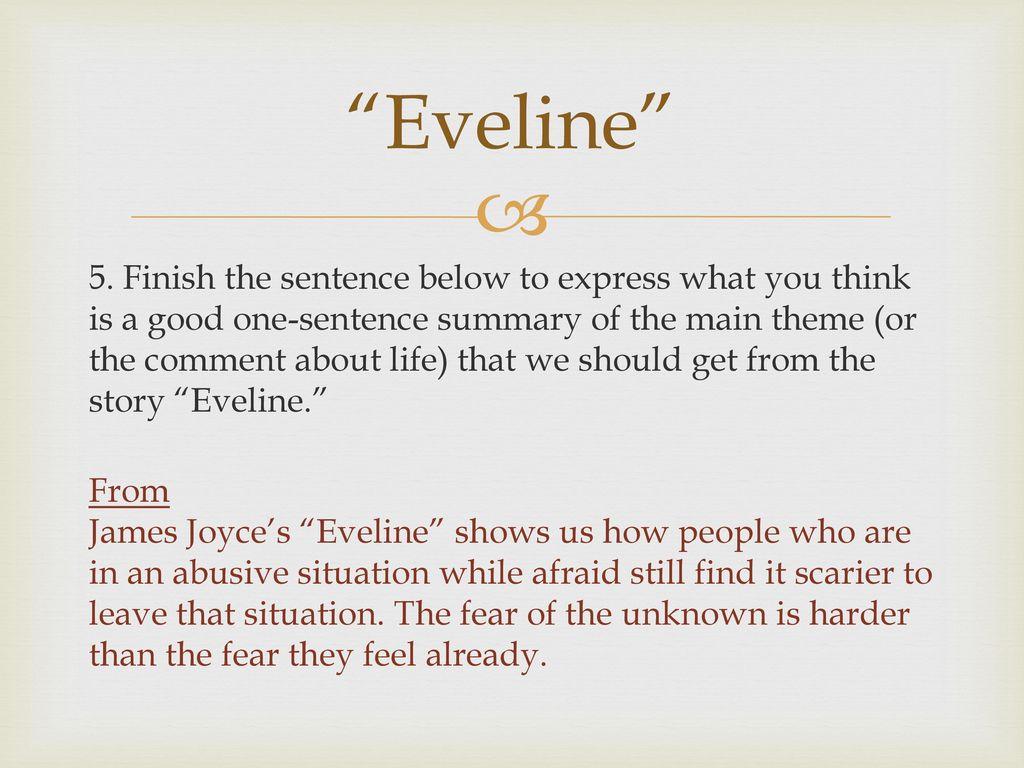 eveline theme essay eveline theme essay eveline theme essay