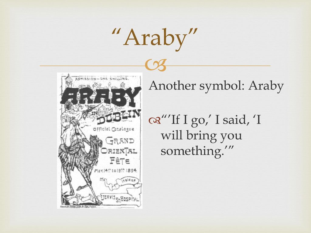 """araby and eveline youth in distress essay Study questions and activities araby what are some connotations of the word """"araby"""" give a few examples of how the narrator distances himself from the boy he once was."""