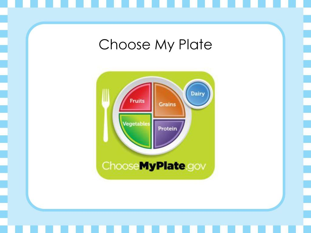 Steps to a healthier you ppt download 2 choose my plate pooptronica