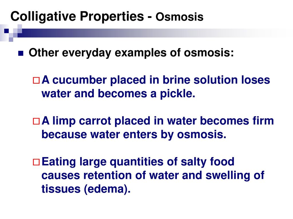 Colligative Properties Ppt Download