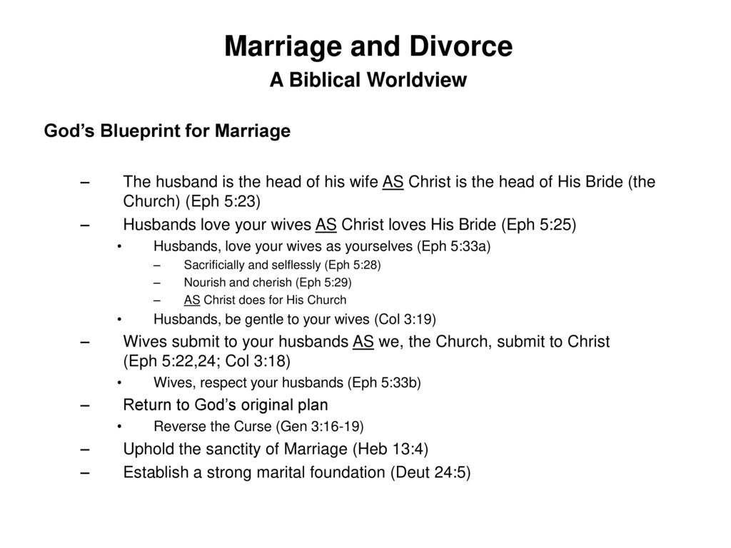 Marriage and divorce a biblical worldview ppt download 4 marriage malvernweather Gallery