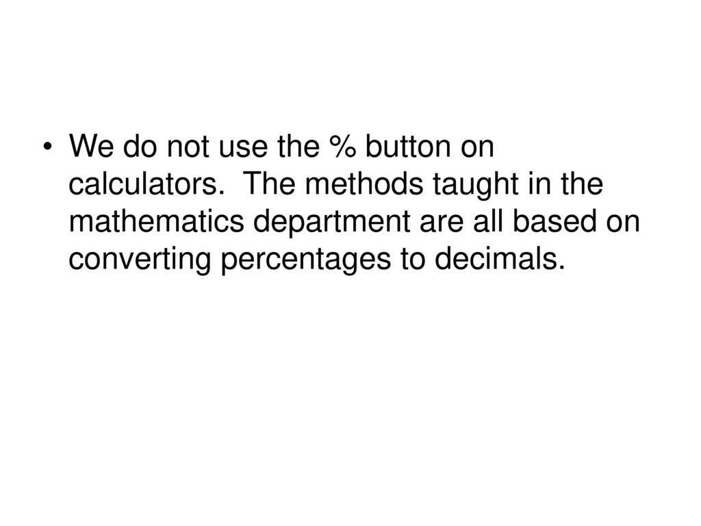 how to give back change without a calculator