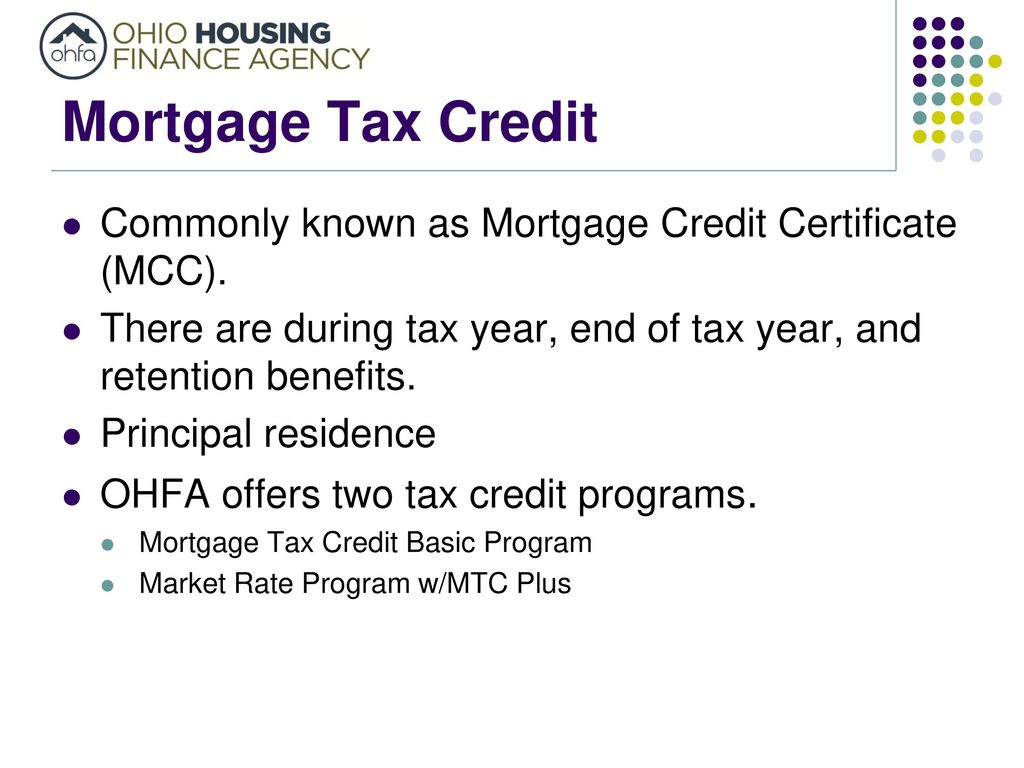 Presented by cleo evans ppt download 2 mortgage tax credit xflitez Choice Image