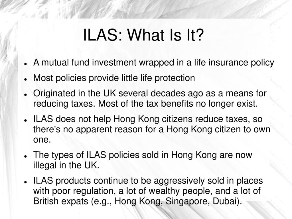 Life Insurance Quote Uk Of Missold Hong Kongers  Ppt Download