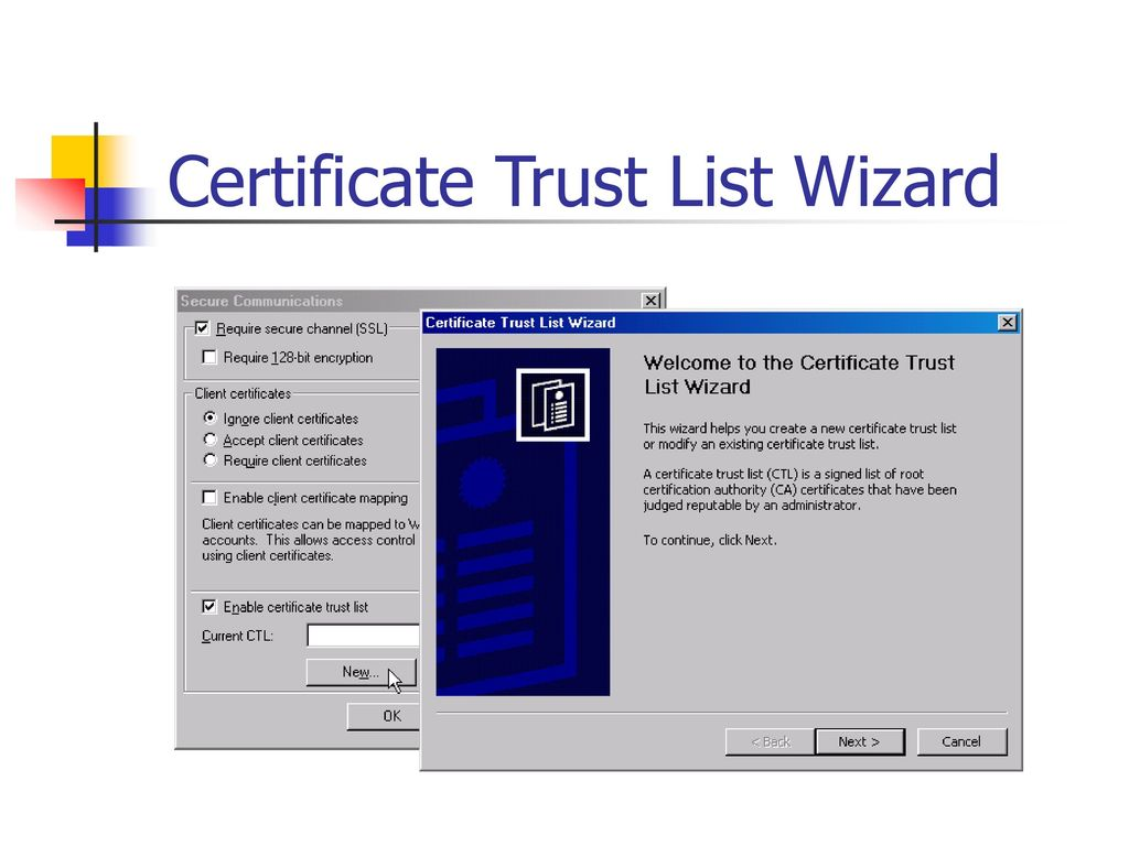 Reliability and performance ppt download 21 certificate trust list wizard 1betcityfo Gallery