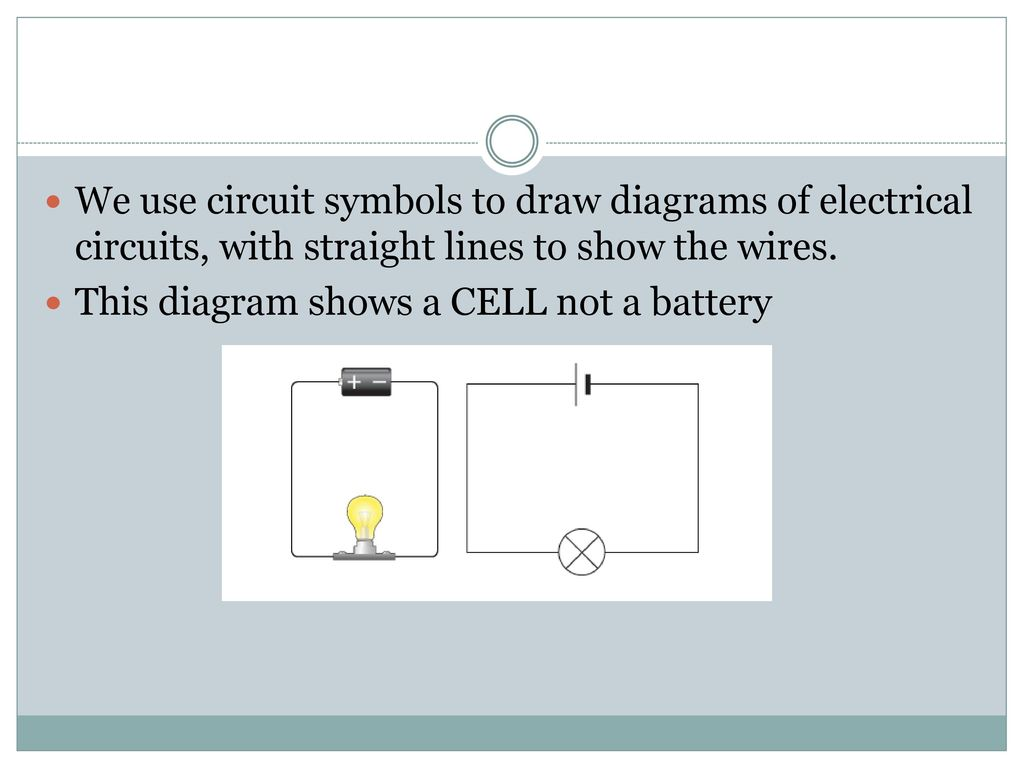 Fancy Circuit Symbols Battery Ensign - Electrical System Block ...
