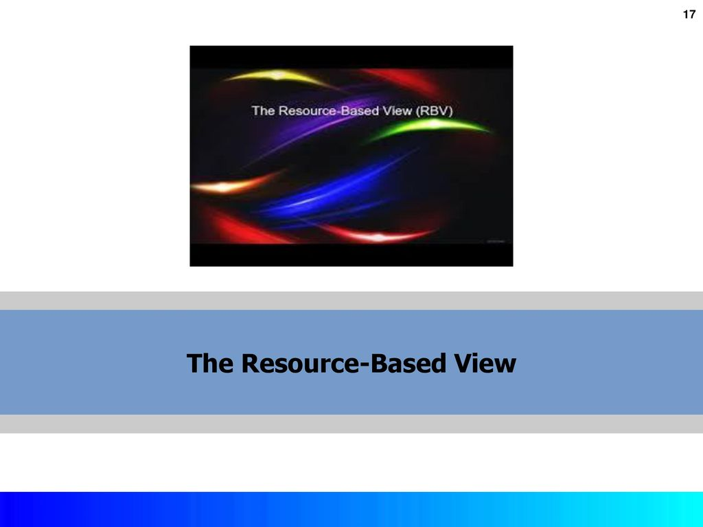 competitive positioning and the resource based view Resource-based view, which started shaping in the late 1980s and reached the peak of its popularity in the 1990s, is perceived by many as a response to the positioning school approach, which dominated in the 1980s both schools see supra-normal returns as firm's ultimate objective and seek the .