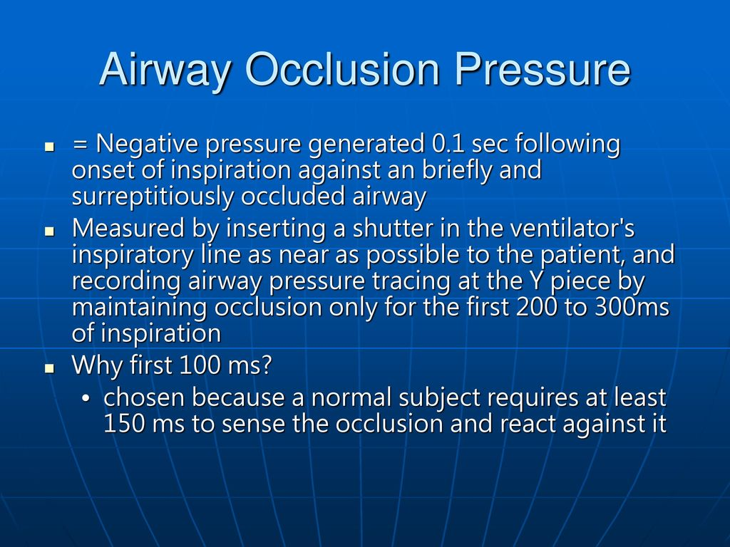 What Does Airway Resistance Tell Us About Lung Function ...