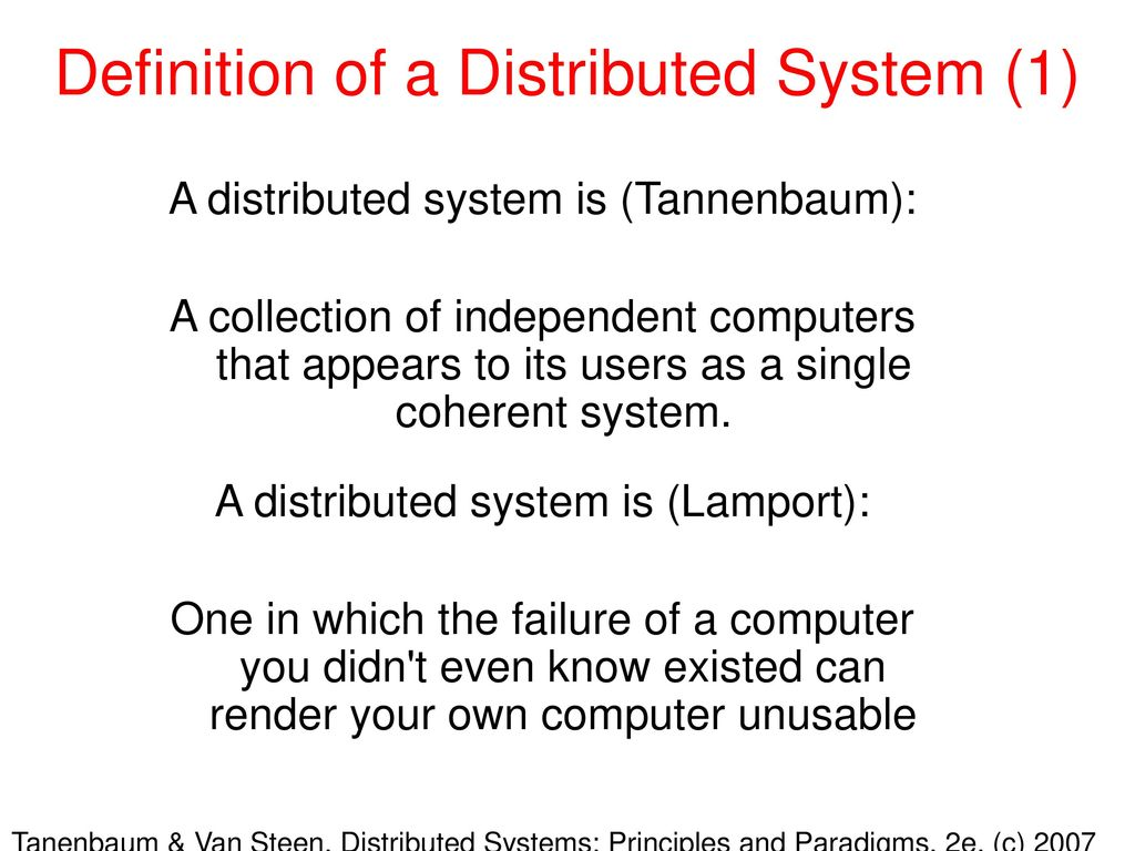 distributed systems definitions Arcangeli, jean-paul and boujbel, raja and leriche, sébastien automatic  deployment of distributed software systems: definitions and state.