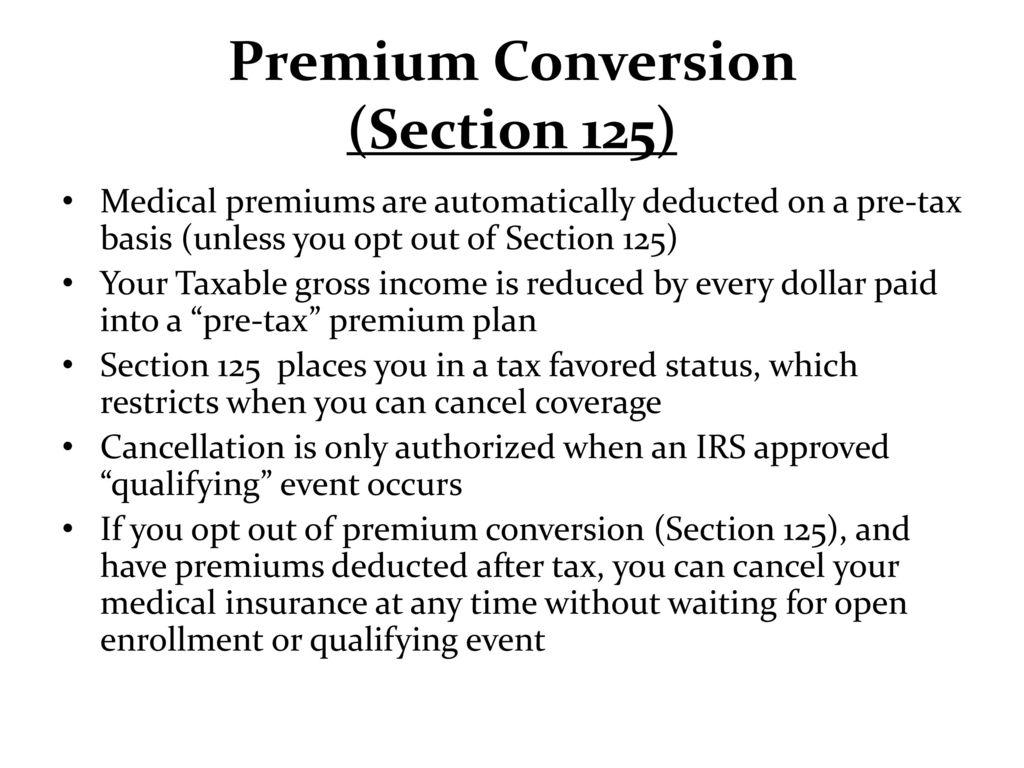 Semper fit exchange services benefits brief ppt download premium conversion section 125 nvjuhfo Choice Image