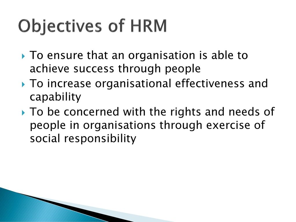 organisation effectiveness through hr practices Background one of the main goals of human resource management (hrm) is to increase the performance of organizations []pfeffer [] emphasized the importance of gaining competitive advantage through employees and noted the importance of several human resource (hr) practices necessary to obtain this advantage.