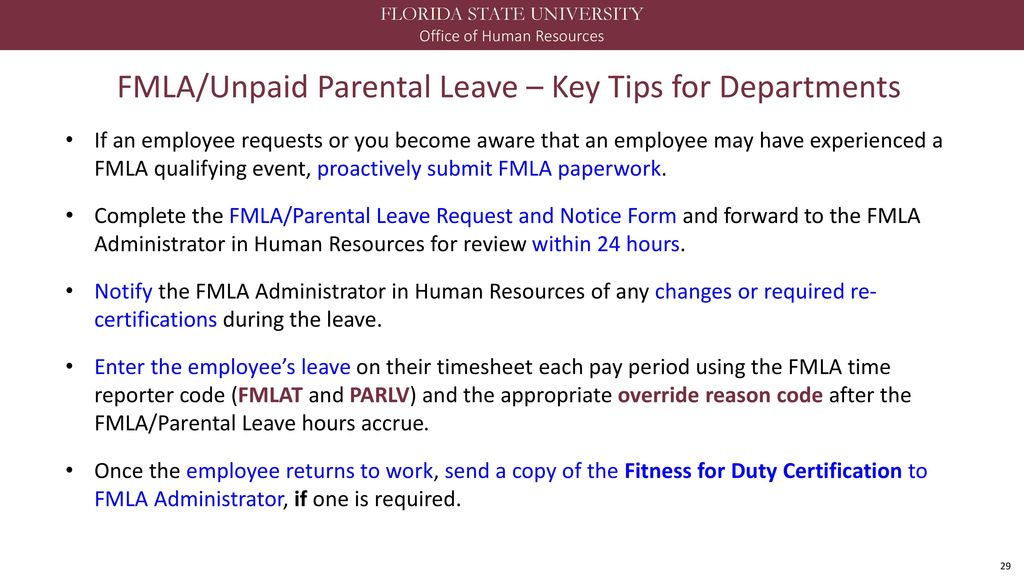 Out Of Office Handling Extended Leave Ppt Download