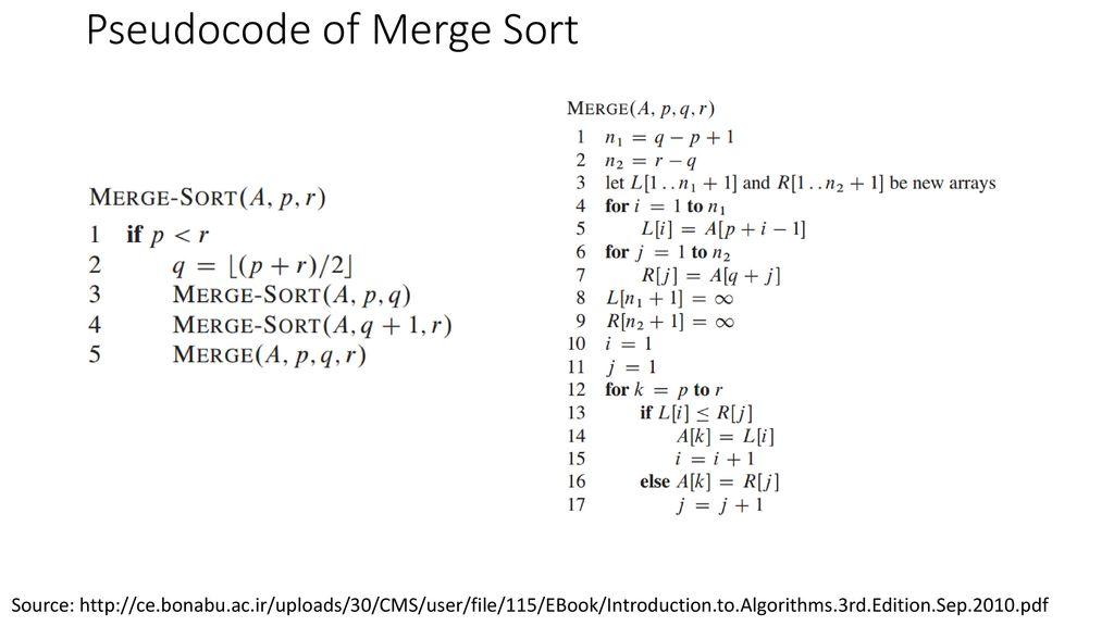 two way merge sort pdf