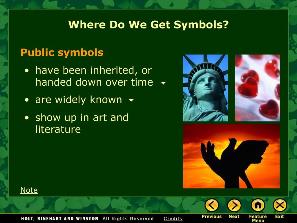 Symbolism and allegory ppt download where do we get symbols public symbols buycottarizona