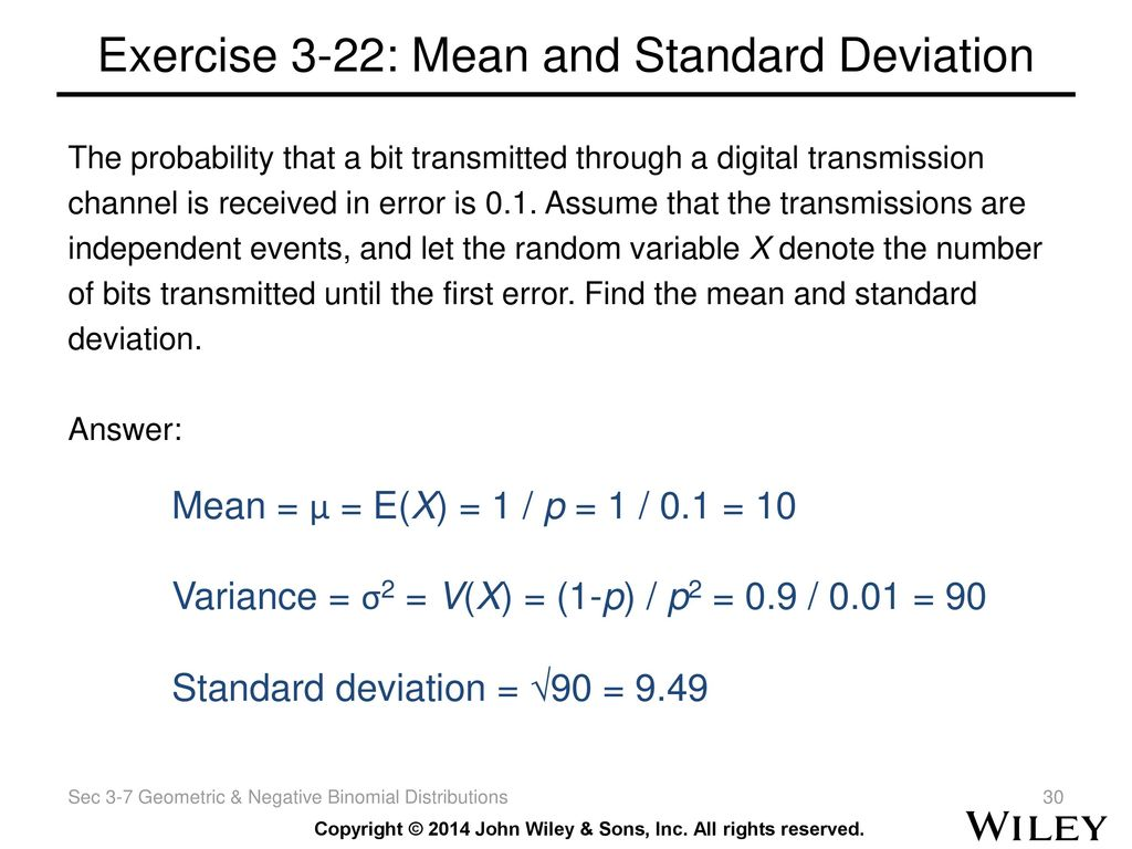 exercise 18 mean standard deviation and Mean and standard deviation problems are presented problems related to data sets as well as grouped data are discussed the solutions to these problems are at the bottom of the page.