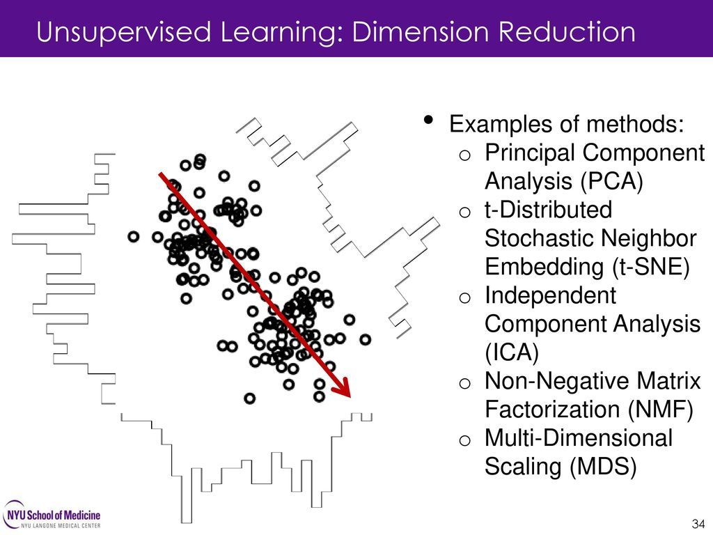 Unsupervised Learning: Dimension Reduction