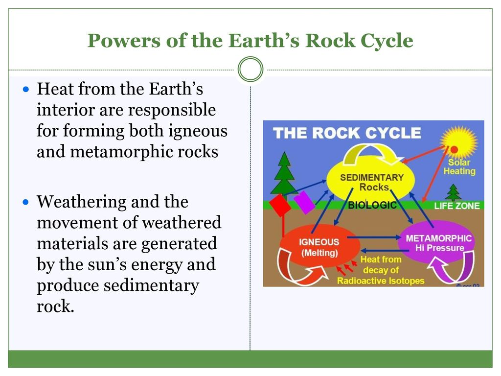 The rock cycle ppt download powers of the earths rock cycle pooptronica