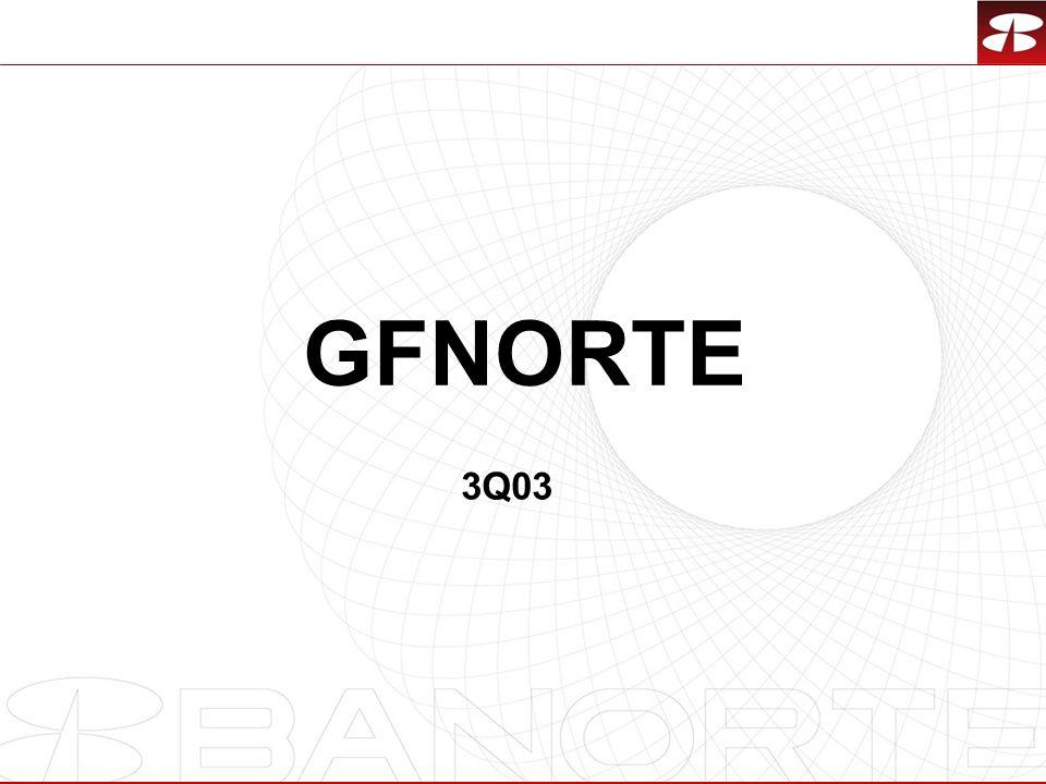 GFNORTE 3Q03