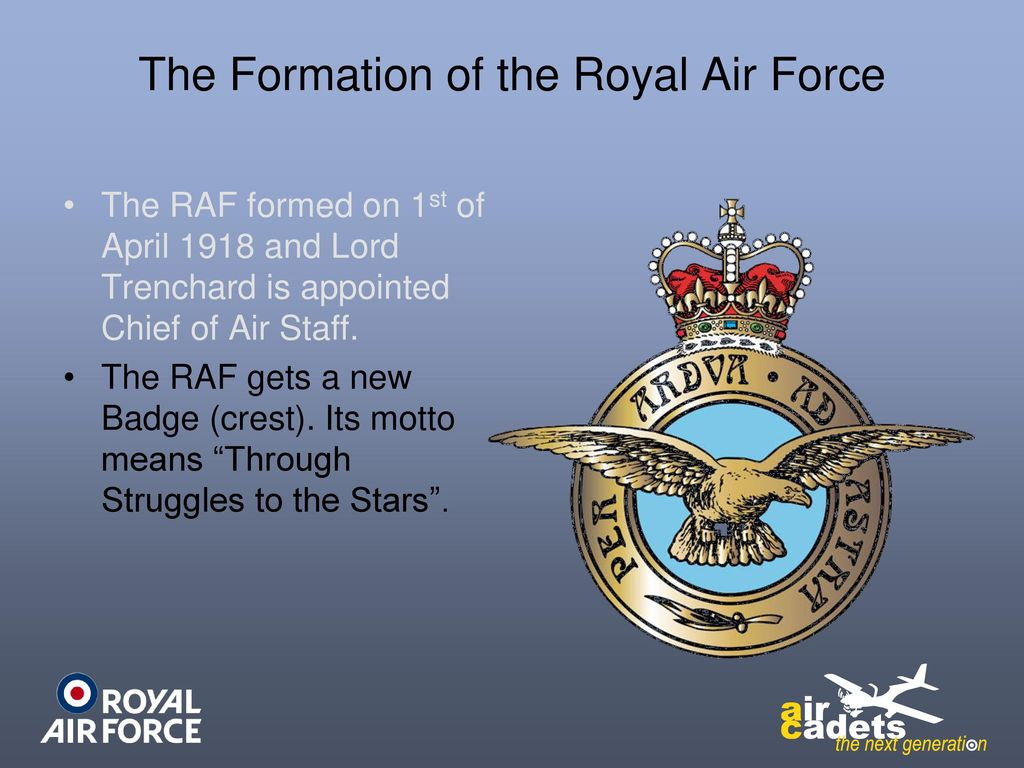 Uncontrolled copy not subject to amendment ppt download the formation of the royal air force biocorpaavc
