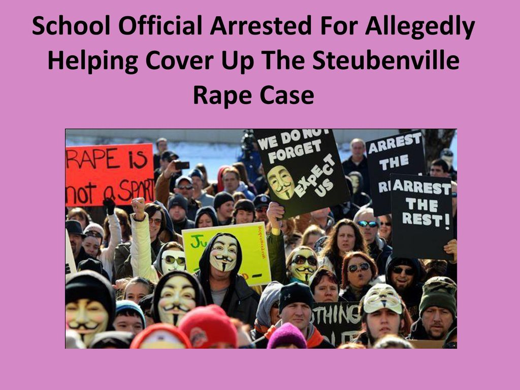 steubenville rape case The steubenville high school rape occurred in steubenville, ohio, on the night of august 11, 2012, when a high-school girl, incapacitated by alcohol, was publicly and repeatedly sexually assaulted by her peers, several of whom documented the acts on social media the victim was transported, undressed, photographed, and sexually assaulted.