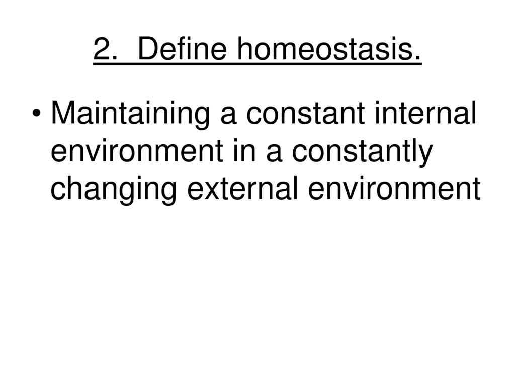 Enchanting Define Homeostasis Anatomy Model - Physiology Of Human ...