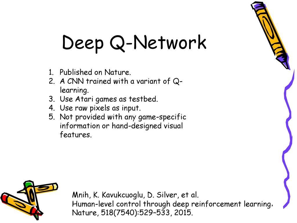 deep q learning
