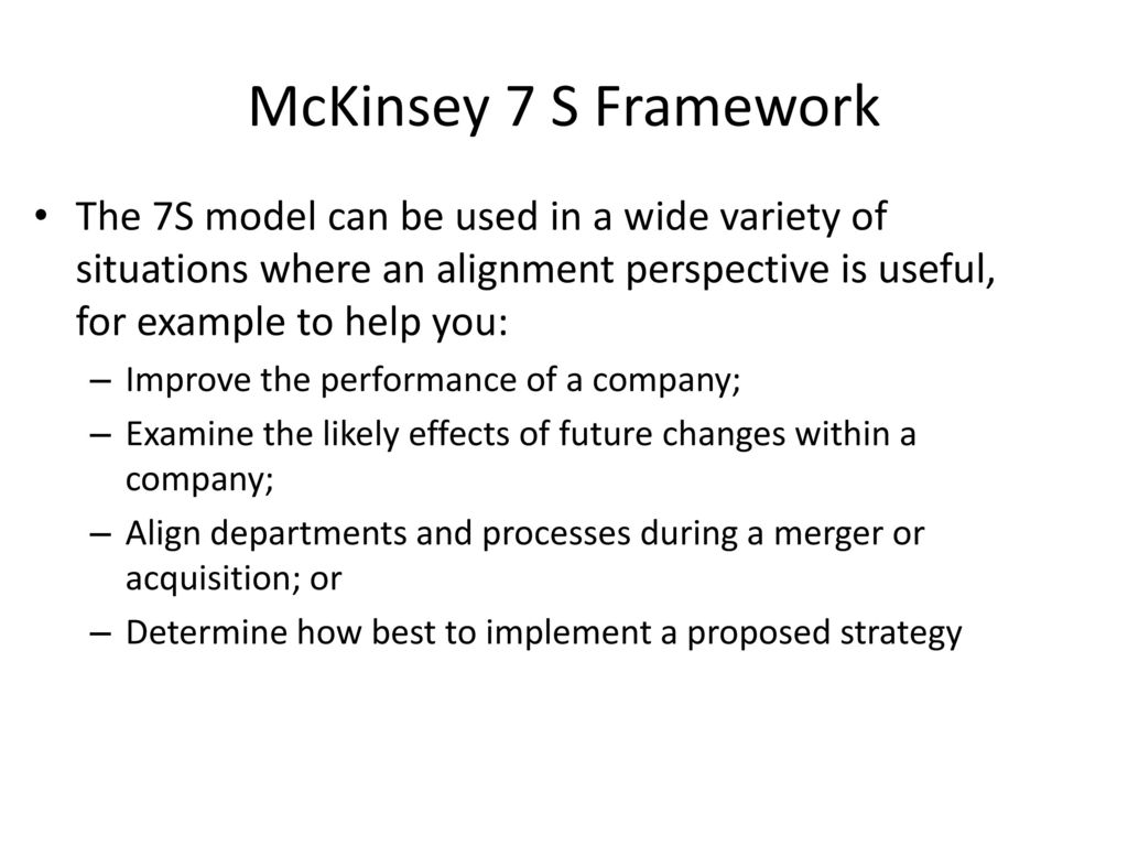 mckinsey 7 s framework model flowchart simple examples currency, Powerpoint templates