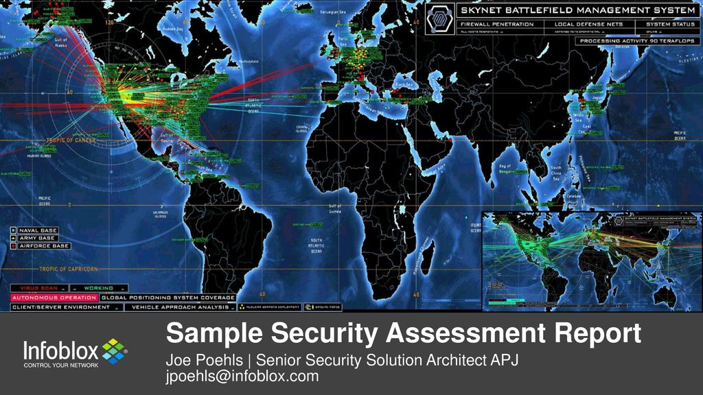 Sample Security Assessment Report  Ppt Download