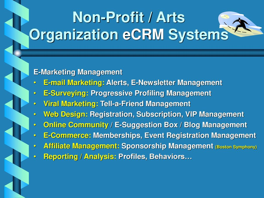 non profit customer relationship management