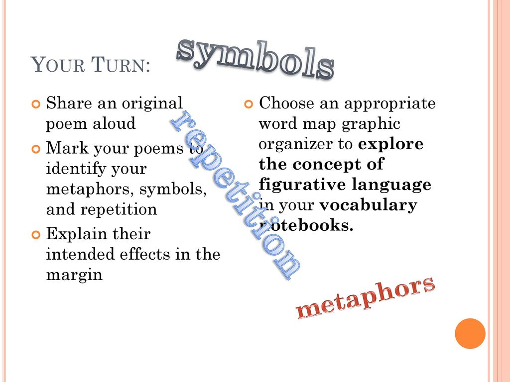 48 extended metaphor symbol ppt download homework what symbols would you use to describe your identity biocorpaavc