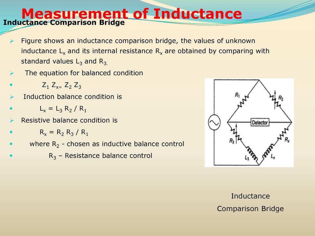 Resistance inductance capacitance measurements ppt download 53 measurement of inductance pooptronica Images