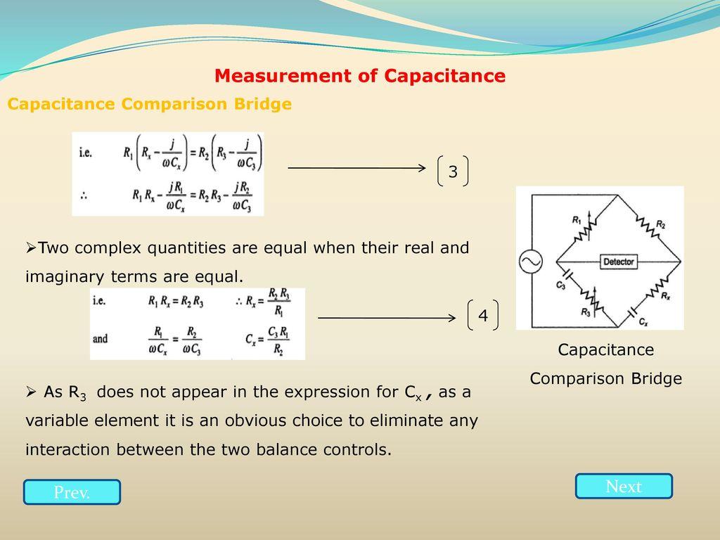 Resistance inductance capacitance measurements ppt download 61 measurement of capacitance pooptronica Images