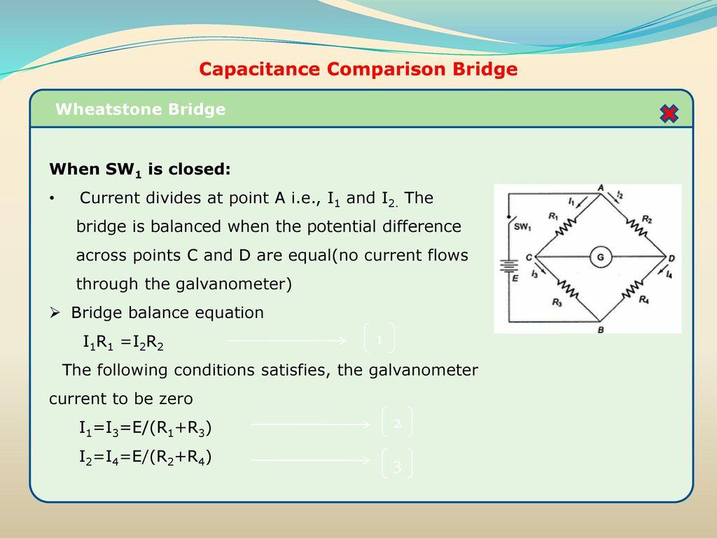 Resistance inductance capacitance measurements ppt download capacitance comparison bridge capacitance comparison bridge pooptronica Images