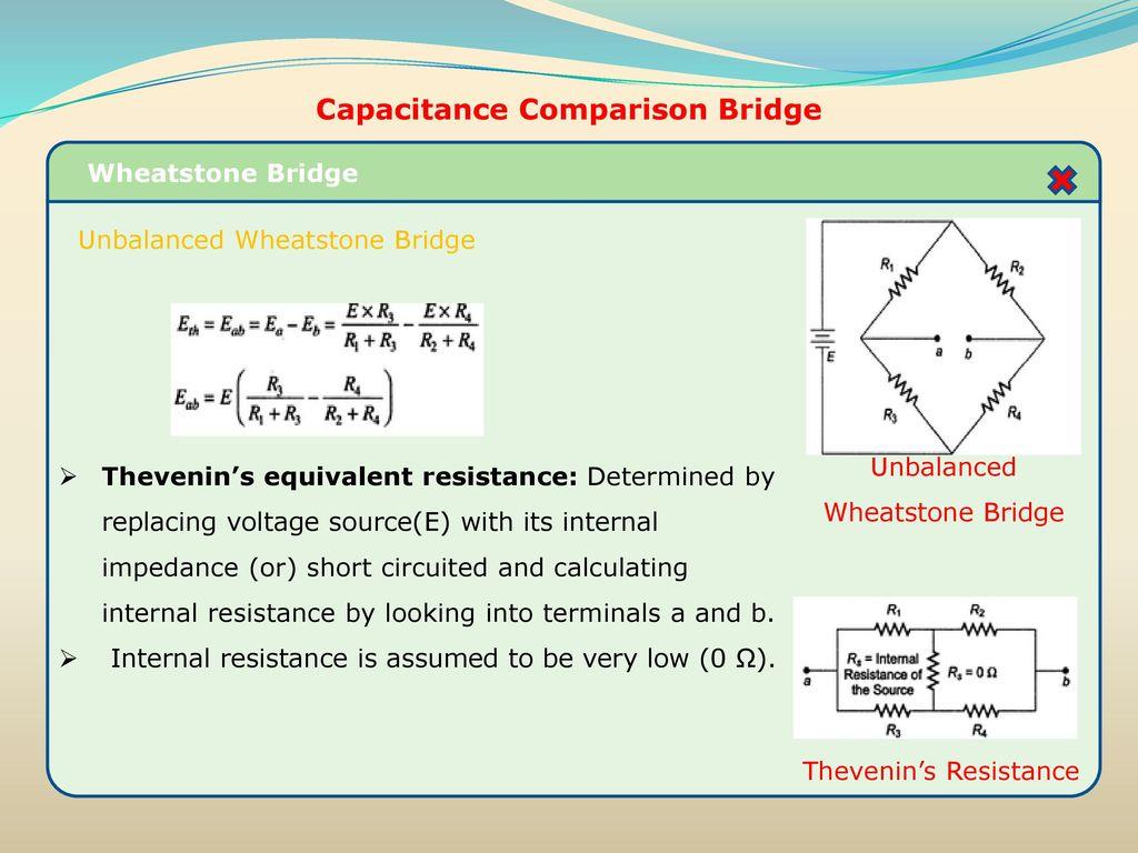Resistance inductance capacitance measurements ppt download capacitance comparison bridge pooptronica Images