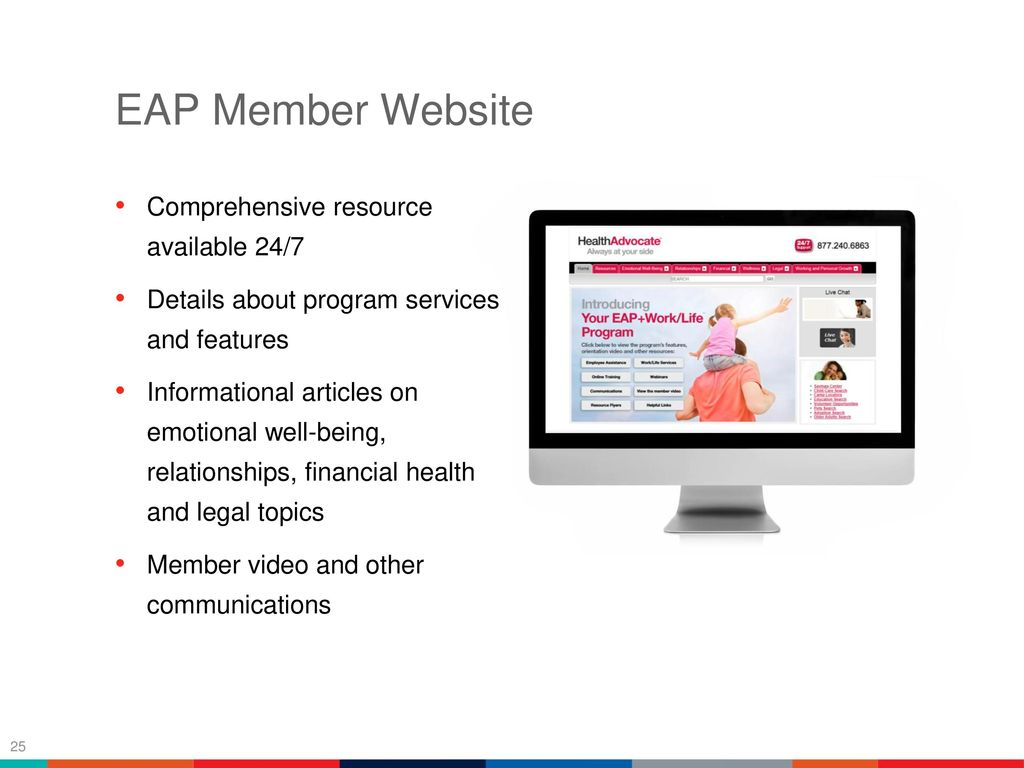 Table of contents company overview program overview ppt 26 eap falaconquin