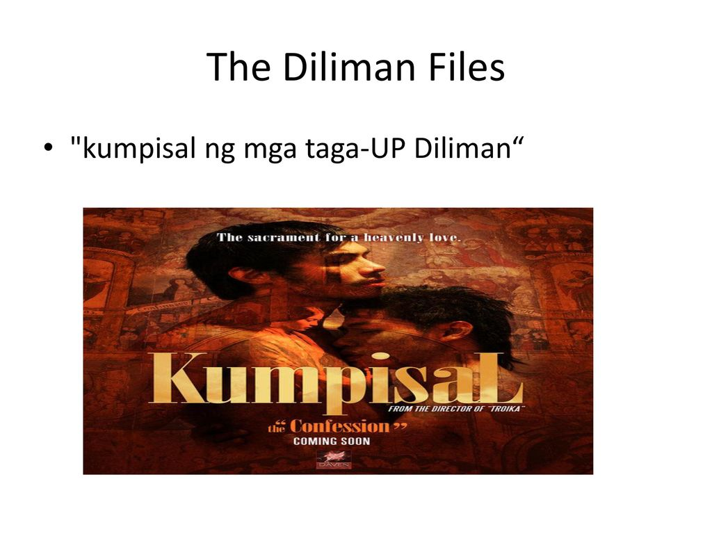 The Diliman Files kumpisal ng mga taga-UP Diliman