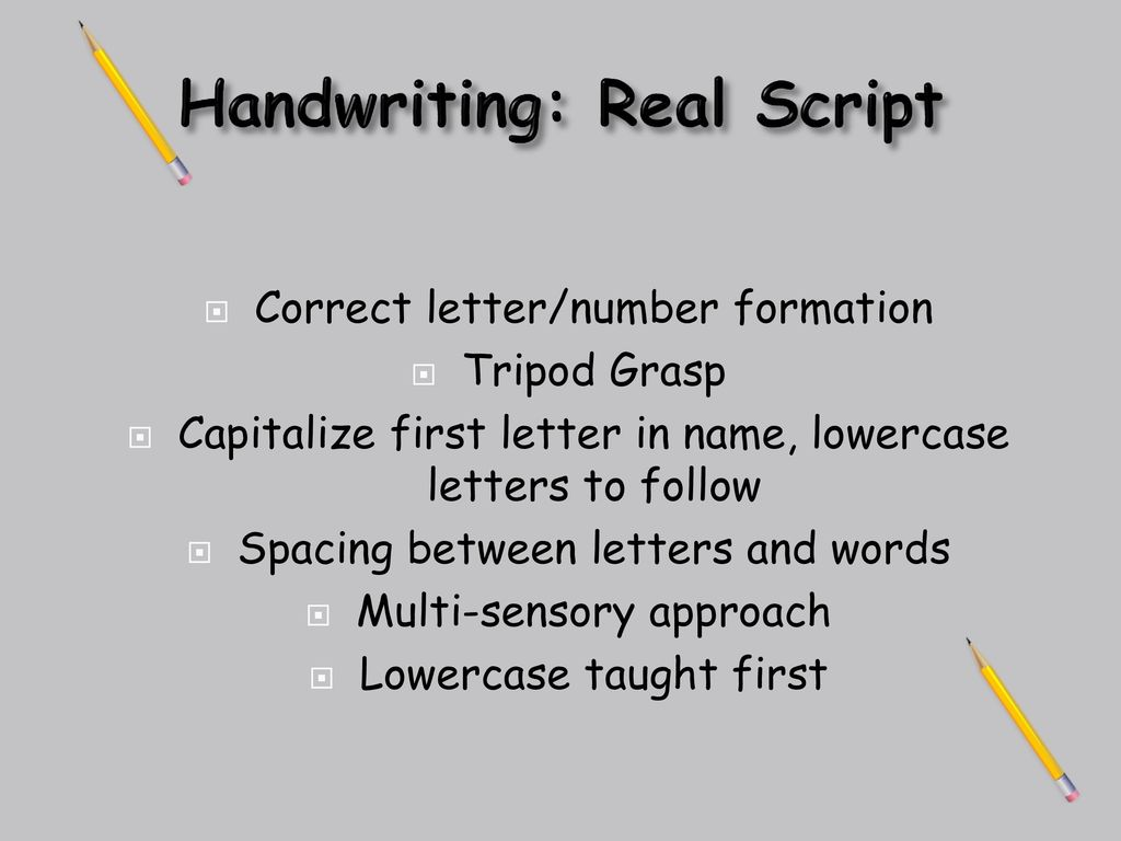 Welcome to kindergarten ppt download 16 handwriting real script kristyandbryce Image collections
