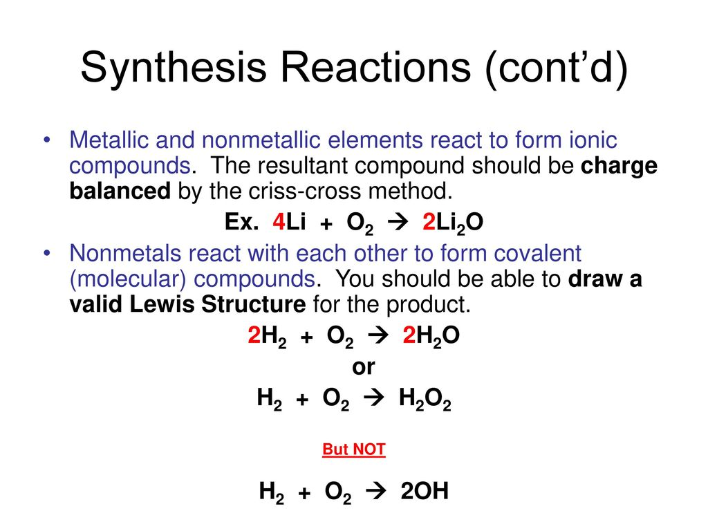 36 Synthesis ...
