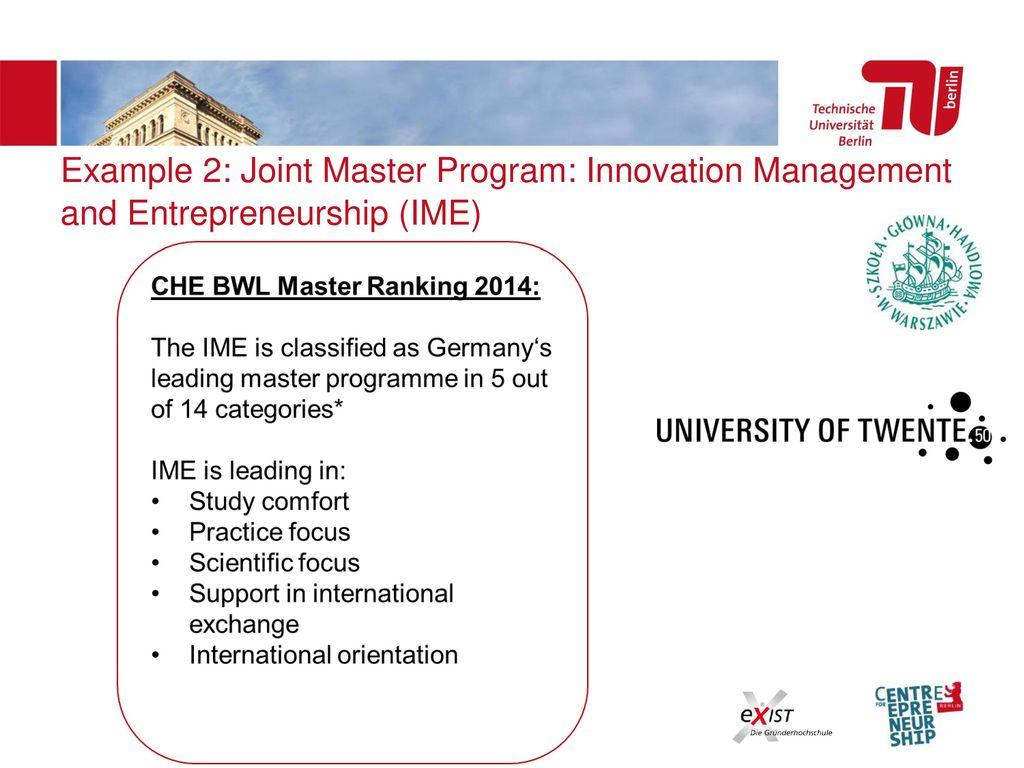 universität bwl ranking